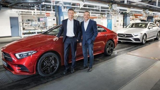 Mercedes открывает первый немецкий фронт против Tesla