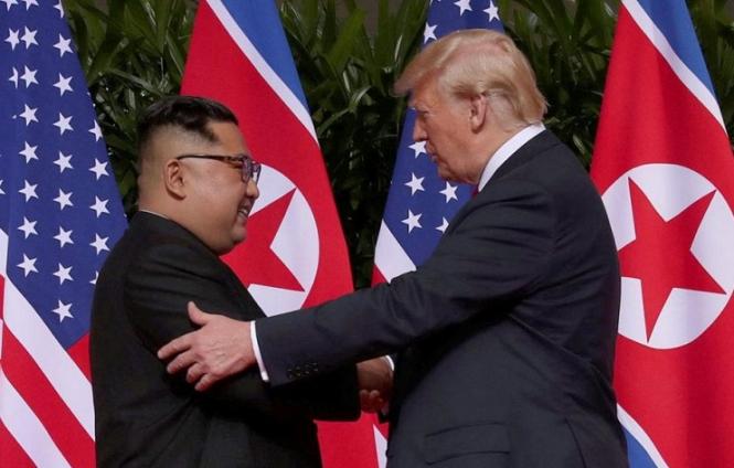 Ким Чен Ын просит о встрече с Дональдом Трампом