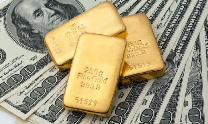 Золото торгуется на шестинедельных минимумах