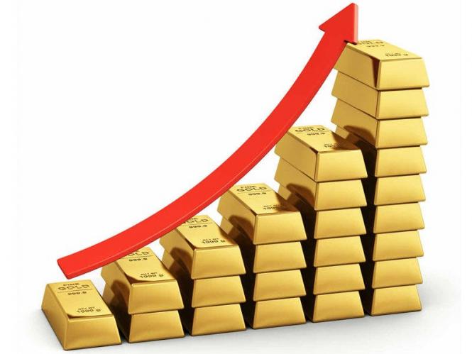 Желтый металл дорожает при нестабильности фондовых рынков