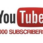 1000 подписчиков в ютубе! Спасибо всем!