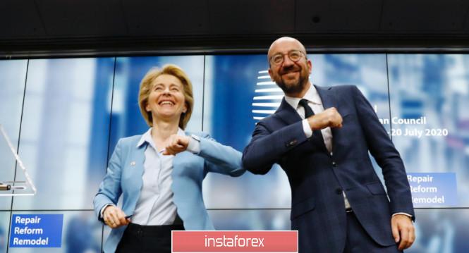 EURUSD: На что, куда и как будут потрачены 750 млрд евро из нового фонда восстановления ЕС