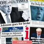 GBP/USD. Фунт пикирует вниз: инсайды британской прессы заставляют нервничать инвесторов
