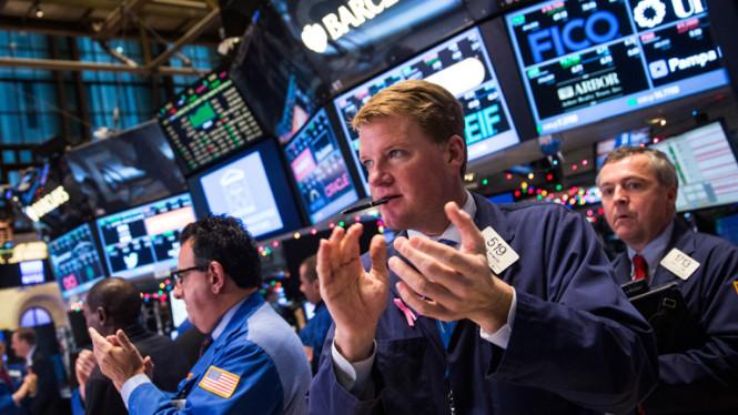 Фондовые индексы США растут на новостях от технологических гигантов