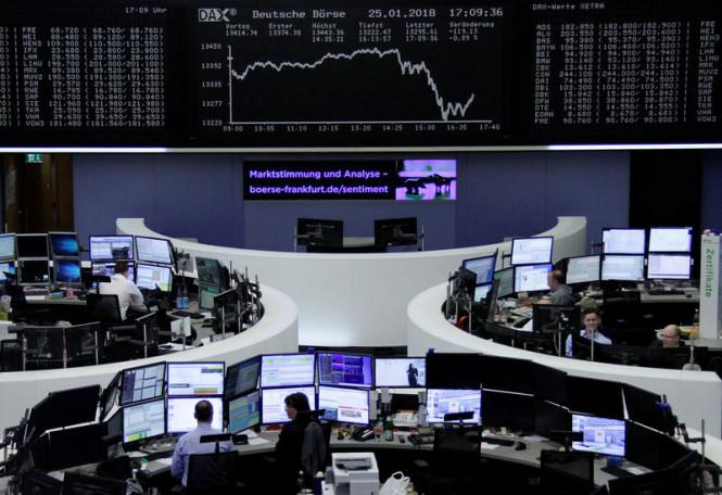 Фондовая Европа не удержала позитив, а Азия остается в раздумьях