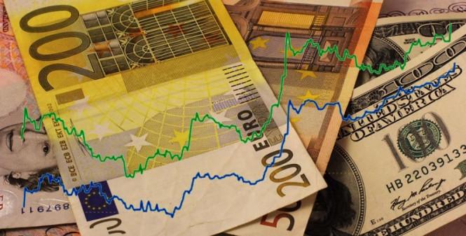 Евро вновь флиртует с отметкой 1,19
