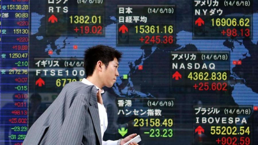 Фондовая Европа и Азия продолжают сокращать свои позиции