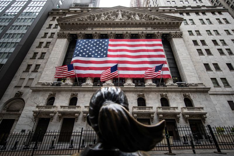 Американские биржи выросли впервые за неделю