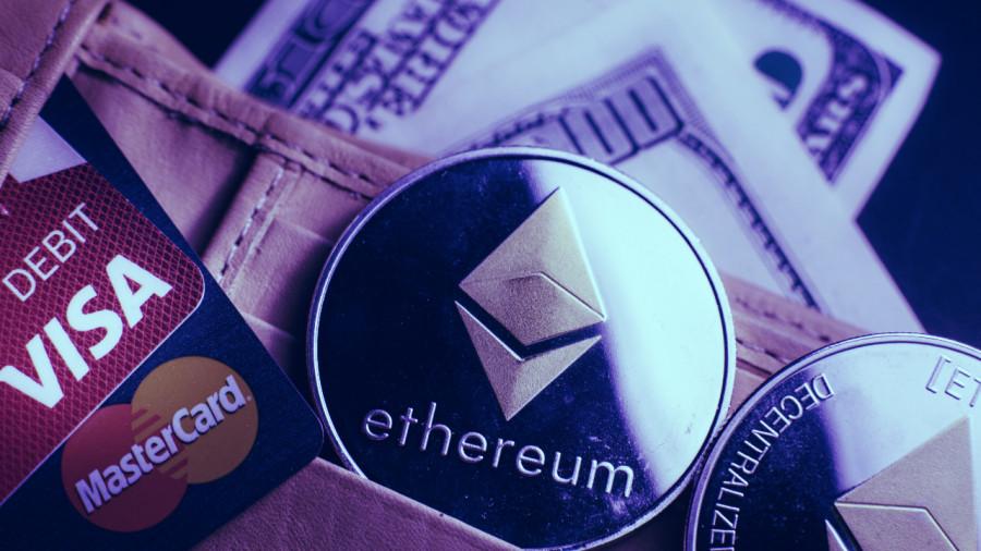 Эфириум покоряет новую высоту в 2150 долларов после того как Visa дала зеленый свет на оплату криптовалютой в своей сети