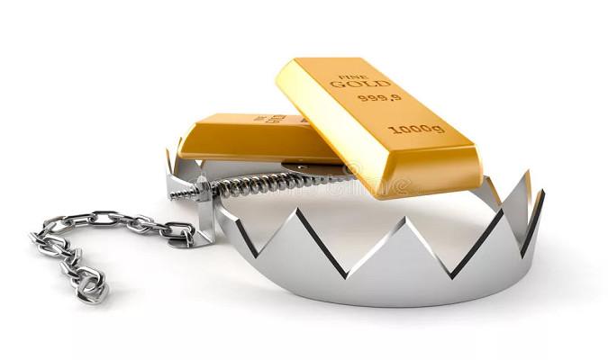 Золото оставило должок на СПОТе