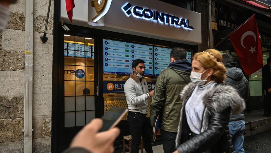 BITCOIN: Минус один. В Турции с 30 апреля запрещены все криптовалюты