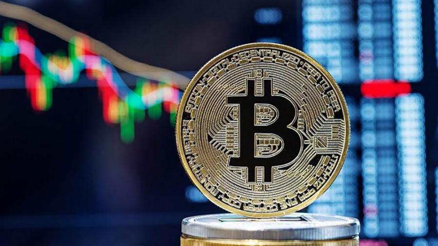 Биткоин: рубеж 55 859$ пал! Криптовалюта делает небольшую паузу около уровня 58 000$.