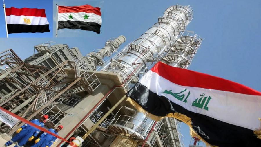 Возрождение газопровода Египет-Сирия-Ирак!