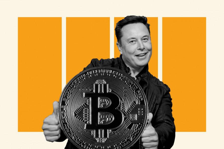 Американские горки с Биткоином после твита Илона Маска: однако Технокороль заверил, что Tesla не продала ни одного Биткоина,