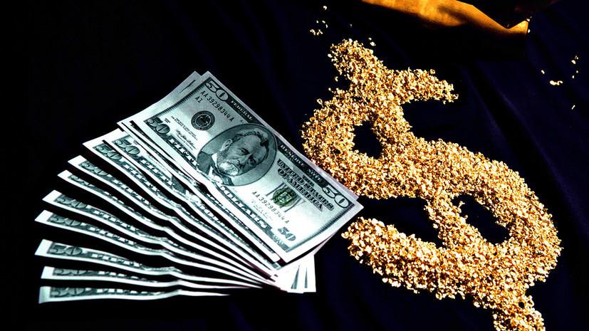 Слабый доллар из последних сил подбросил золото до максимальных отметок