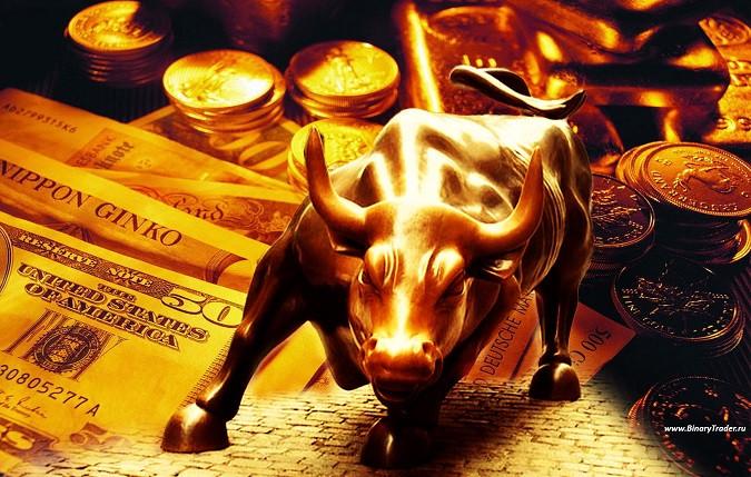 План на большой рост по золоту