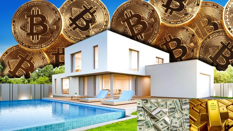 Дилемма инвестирования: криптовалюты, золото, или недвижимость?