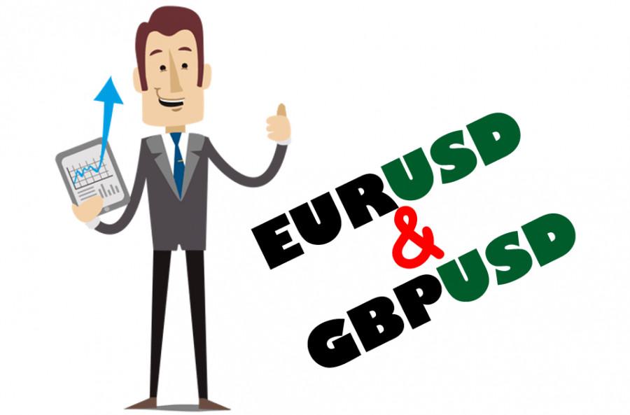 Учимся и анализируем, торговые рекомендации для начинающих трейдеров EURUSD и GBPUSD 12.07