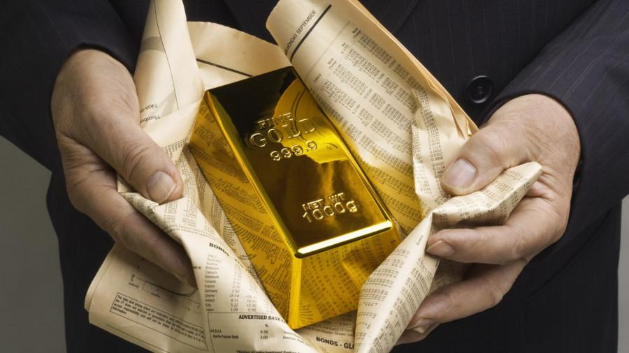 Рекордный уровень инфляции в США окрылил золото