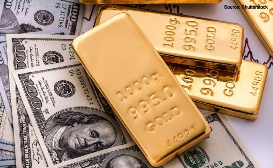 Золото как на батуте: то подпрыгнет, то опустится