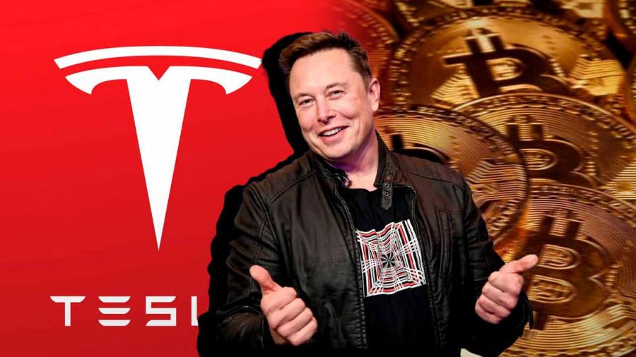 Состояние Tesla значительно улучшилось, после того как Биткоин пробил рубеж в 40 000 долларов