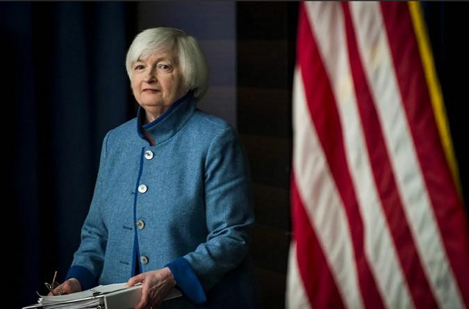 Джанет Йеллен повторно призвала Конгресс поднять либо приостановить потолок государственного долга