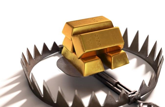 Золото готовится к обвалу