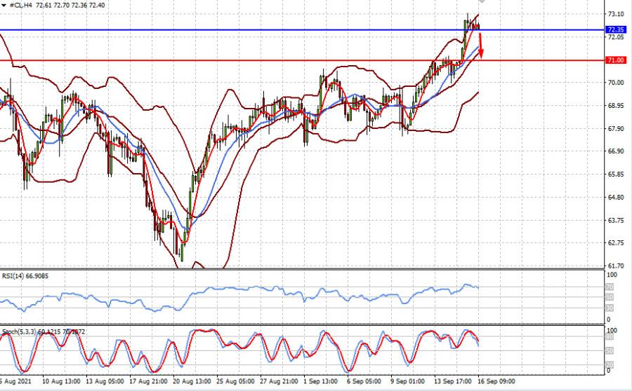 Пока акции падают, цены на нефть испытывают ренессанс (ожидаем падения цен на нефть марки WTI и восстановления цены на золото)