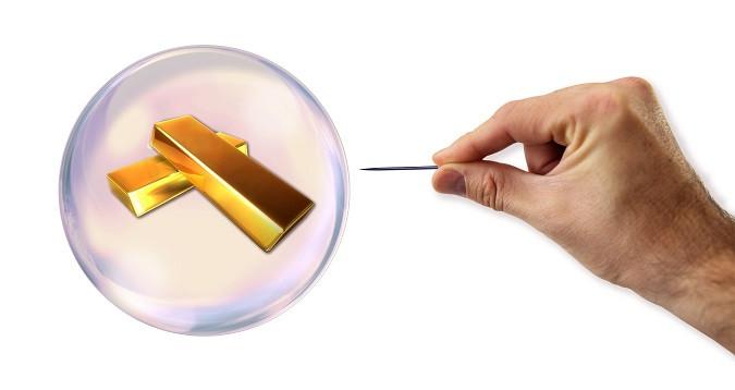 Золотой инфляционный ПУЗЫРЬ