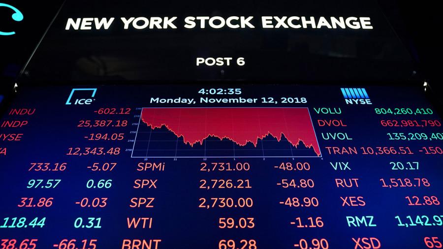 Фондовый рынок может просесть еще сильнее, если ФРС объявит о завершении QE.